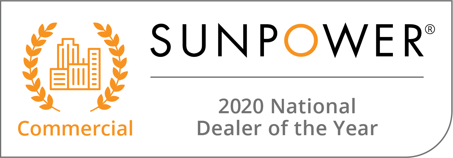 2020 Commercial National Dealer of the Year Badge