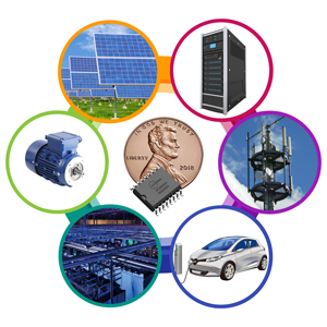 current sensing is used for EV cars, ADAS systems, server farms, telecom, etc.e