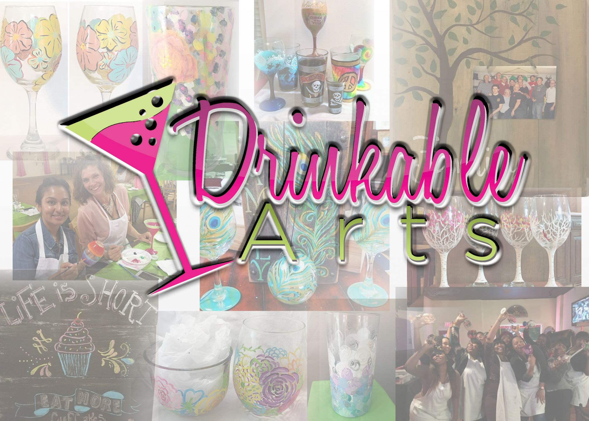 Drinkable Arts Mobile Paint Parties