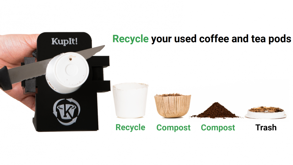 Kupit Recycling Tool Helps You Recycle Coffee Pods