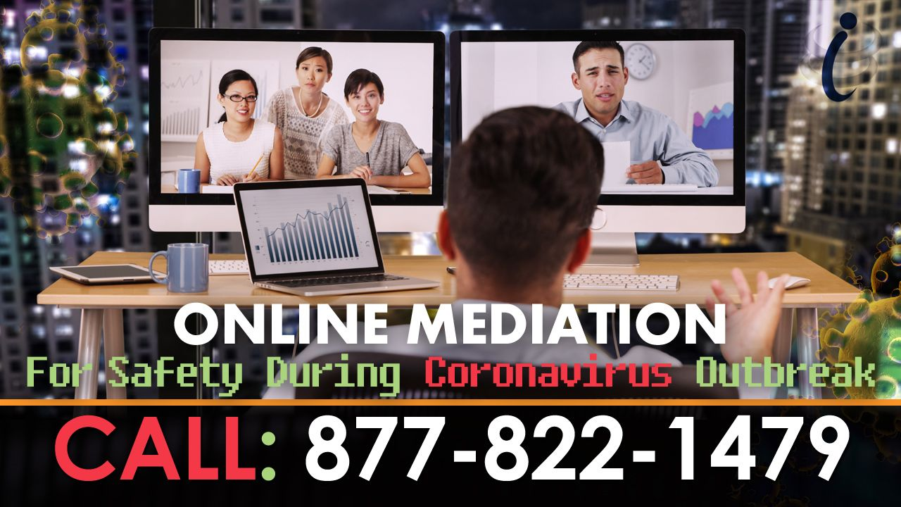 Online Mediation For Safety - Coronavirus Outbreak
