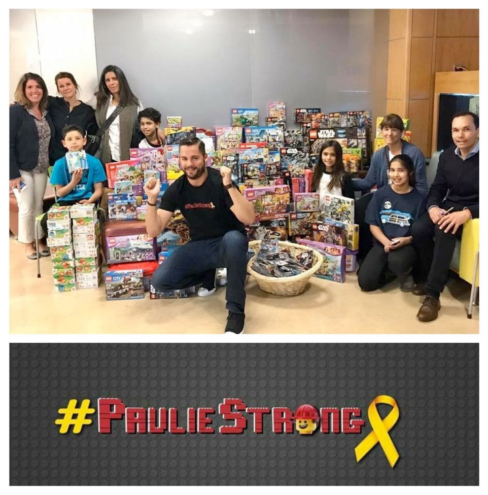 Paulie Strong Foundation Lego Drive