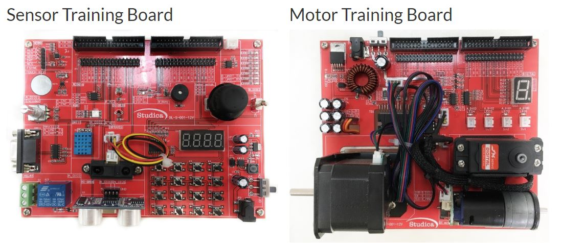 Robotics Sensor & Motor Training Kit by Studica