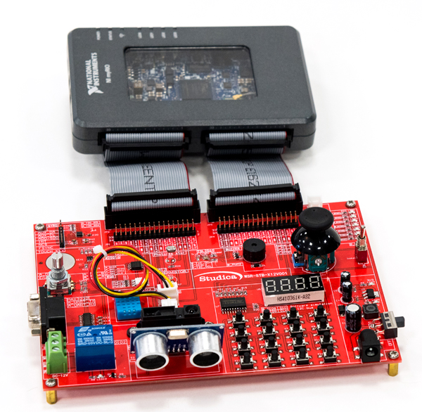 Robotics Sensor & Motor Training Kit for NI myRIO & LabVIEW