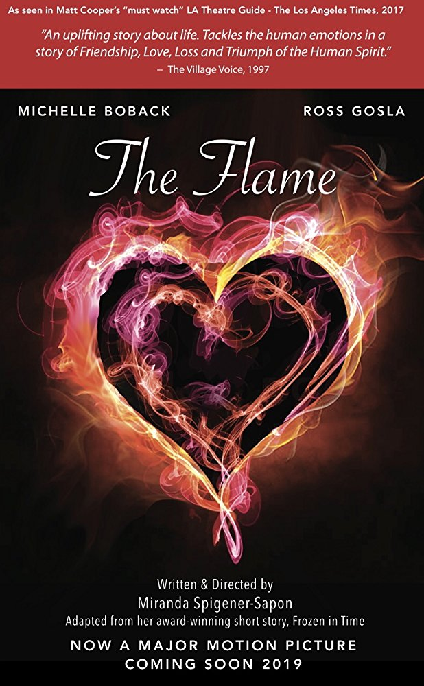 Ross Gosla in as the lead in the upcoming feature film The Flame