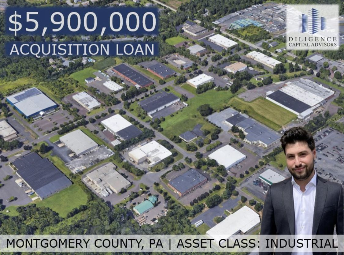 Spec Financing Loan Closes in Montgomery County PA