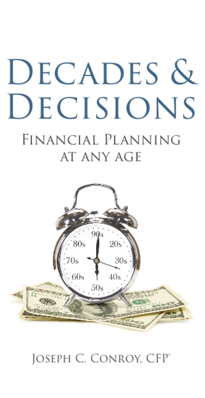 The cover of Decades & Decisions: Financial Planning at Any Age.