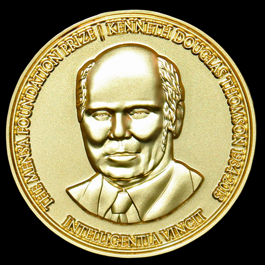The Mensa Foundation Prize is awarded biennially for scientific discovery.