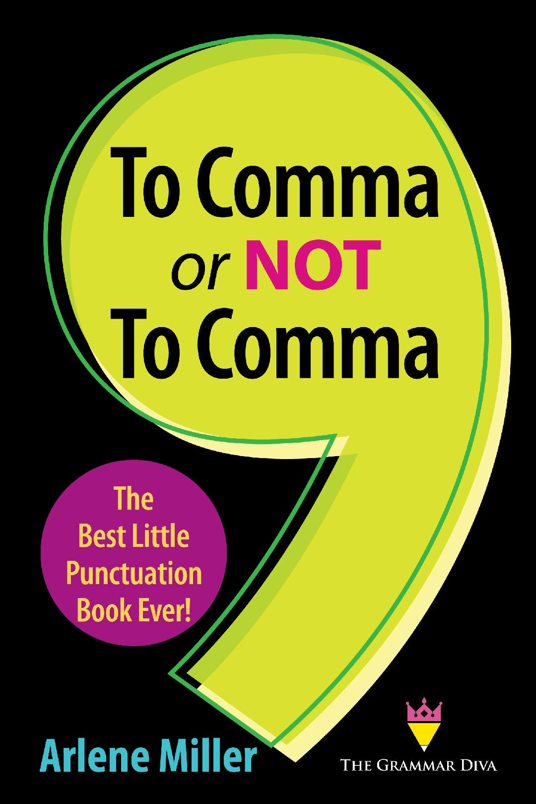 To Comma or Not to Comma