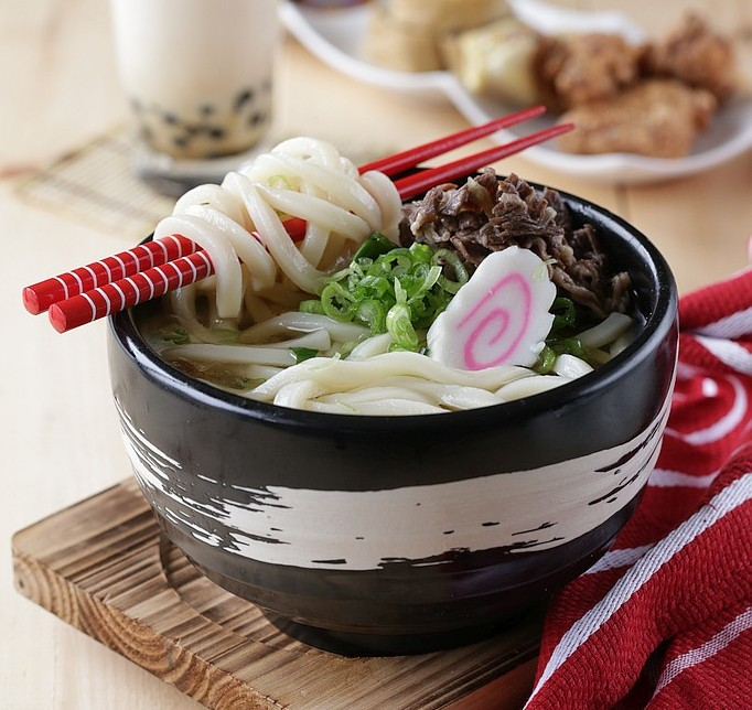 Traditional Japanese Udon