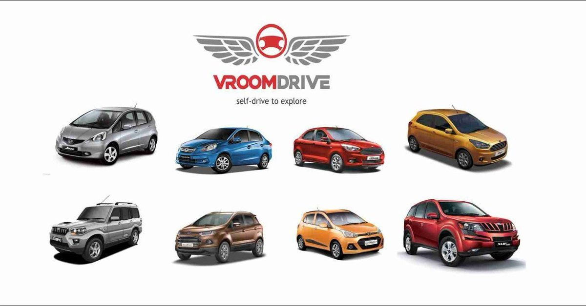 Vroom Drive Self-Drive Cars