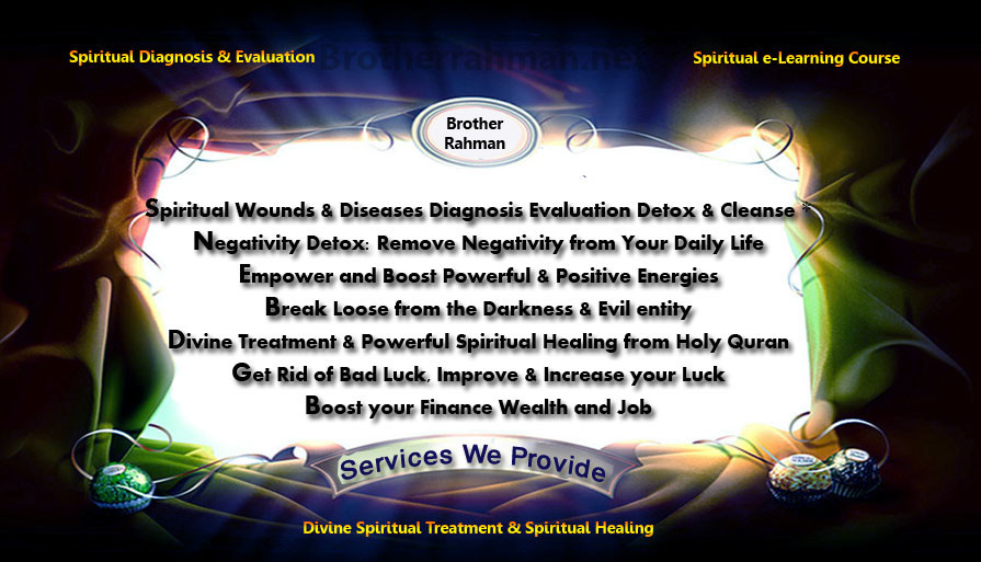 What We Do: Provider of Divine Spiritual Treatment Healing Powerful Magical Item