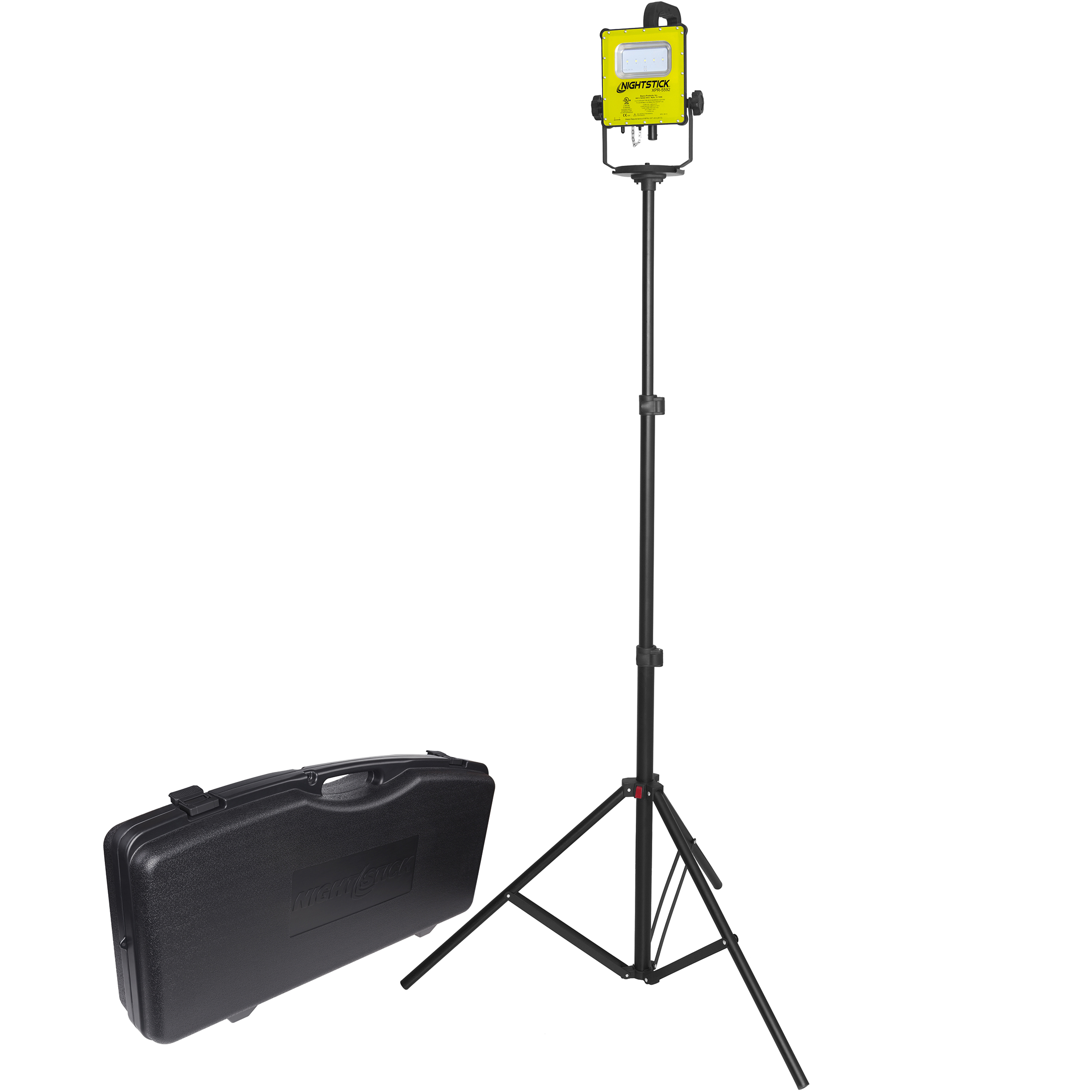 XPR-5592GCX Scene Light Kit with 6' Tripod and Case